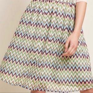 Sale!3/$45 ModCloth Chevron Zig Zag Skirt